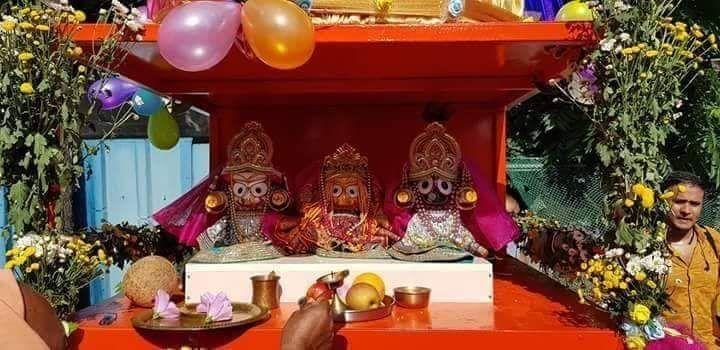 Jagganath, Baladeva,Subadra