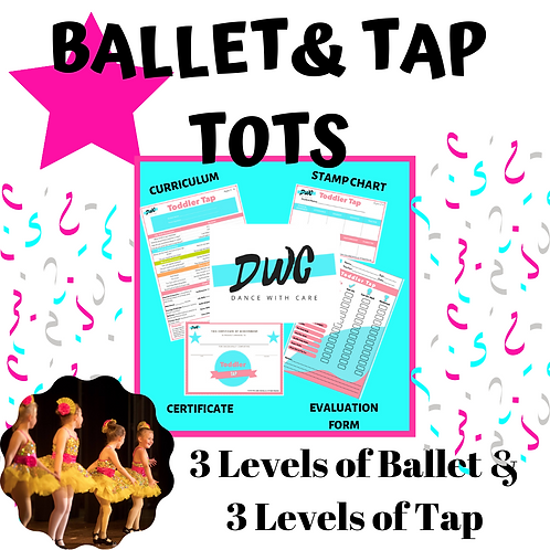 Ballet & Tap Tots Program - Dance With Care