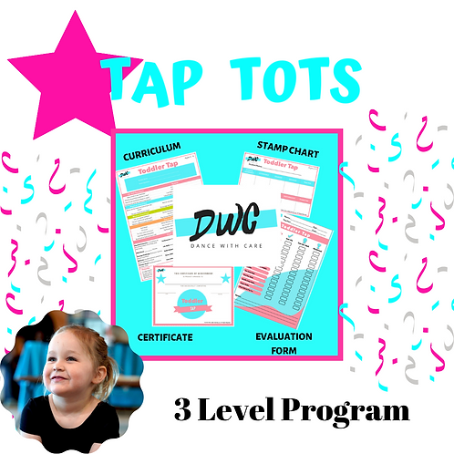 Tap Tots Program - Dance With Care
