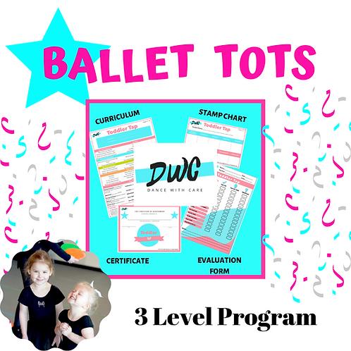 Ballet Tots Program - Dance With Care