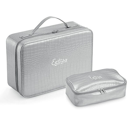 SET BRIEFCASE AND CASE IN ECO-LEATHER