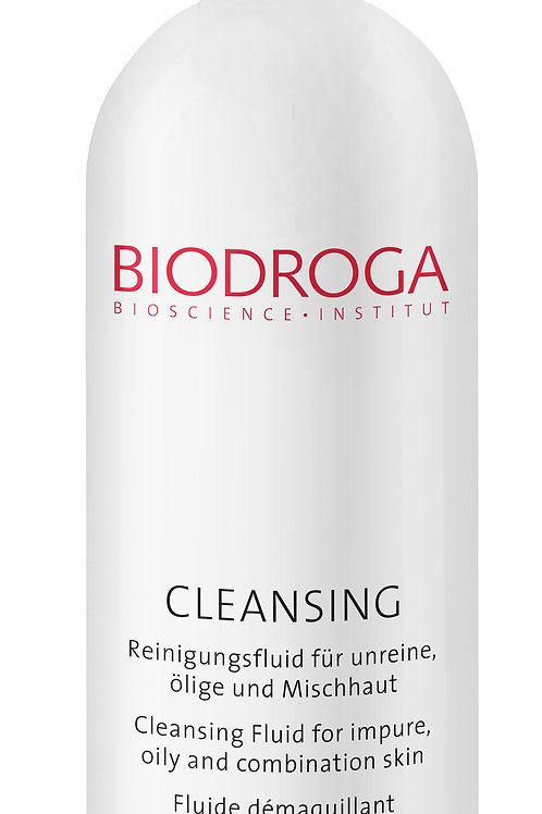 CLEANSING FLUID FOR BLEMISHED, OILY AND COMBINATION SKIN