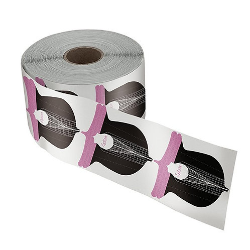 NAIL FORM PAPERS - BUTTERFLY STYLE
