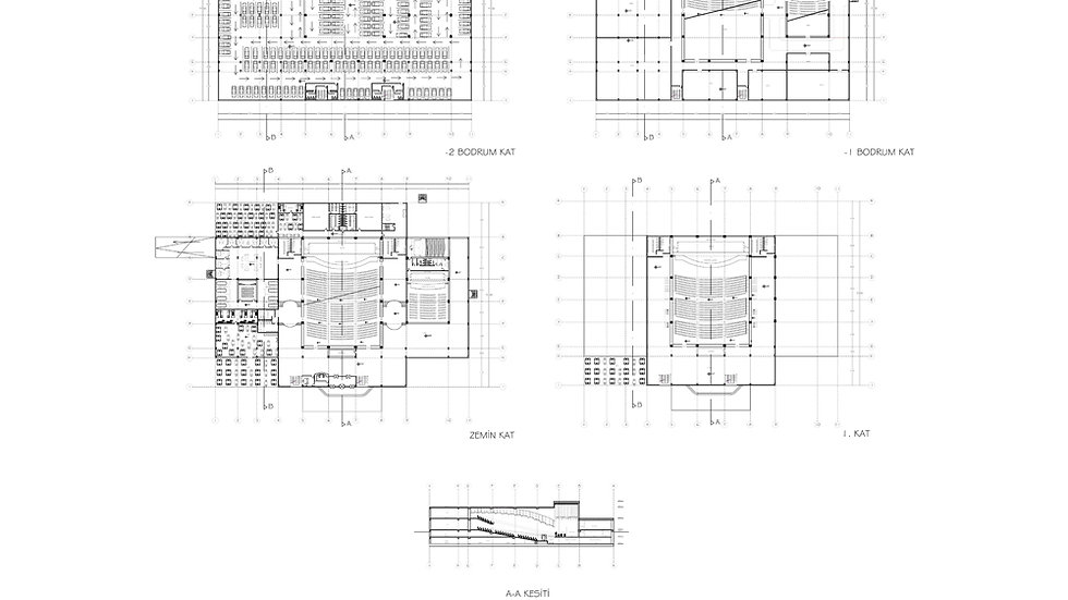 Kongre Merkezi Projesi 1