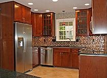 Interior kitchen remodel