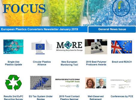 EuPC FOCUS, January 2019 - General News