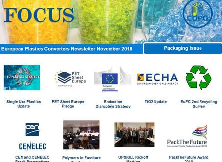 EuPC FOCUS, November 2018 - Packaging