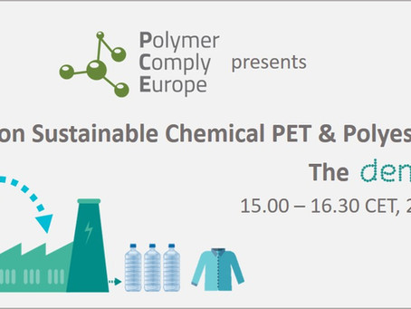 Live webinar on Sustainable Chemical PET & Polyester Recycling - The DEMETO Project
