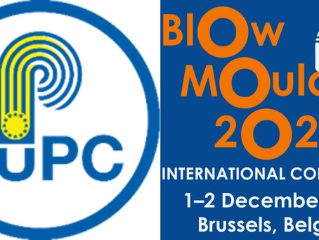 EuPC supports BLOW MOULDING 2021