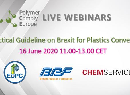 Live Webinar: Practical Guideline on Brexit for Plastics Converters