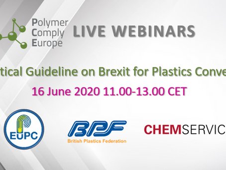 Live Webinar: Practical Guideline on Brexit for Plastics Converters
