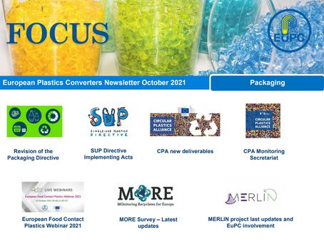 EuPC FOCUS, October 2021 - Packaging Issue