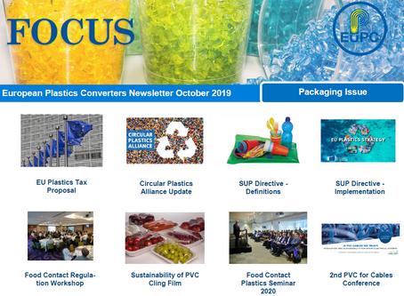 EuPC FOCUS, October 2019 - Packaging