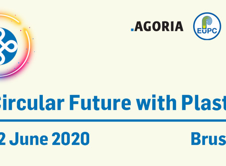 Save the Date: A Circular Future with Plastics 2020, by EuPC, Agoria & Essenscia PolyMatters