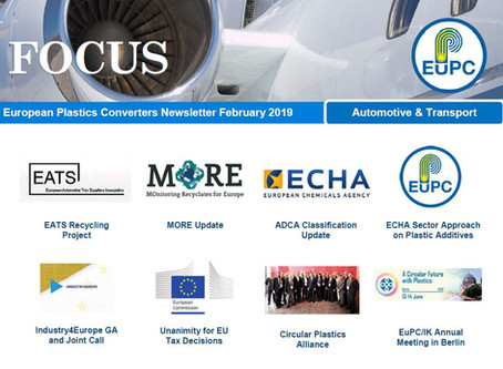 EuPC FOCUS, February 2019 - Automotive & Transport