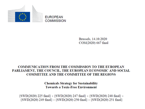 EU Chemicals Strategy for Sustainability