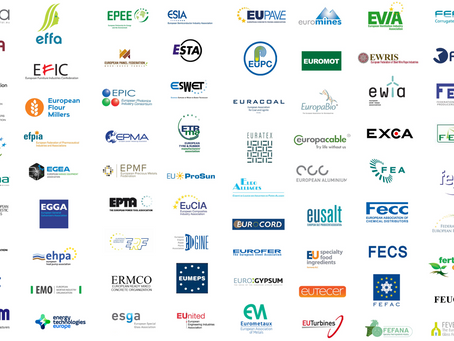 European industries unite to call for an ambitious EU industrial strategy