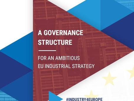 Joint European Industry Position Paper on Governance