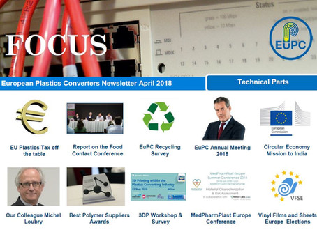 EuPC FOCUS, April 2018 - Technical Parts