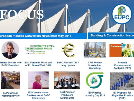 EuPC FOCUS, May 2018 - Building & Construction