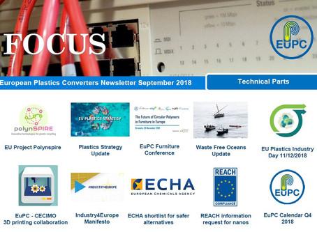 EuPC FOCUS, September 2018 - Technical Parts