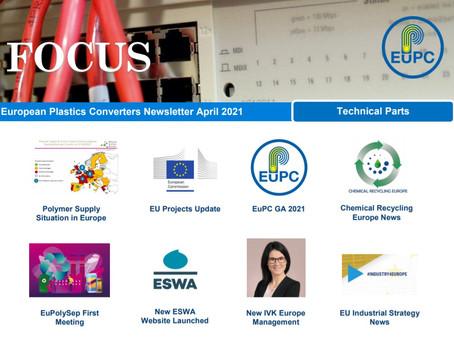 EuPC FOCUS, April 2021 - Technical Parts Issue