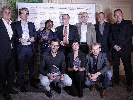 "Novafloor wins ""Coup de Cœur"" award for its composite marble panel ""Carrelagi"""