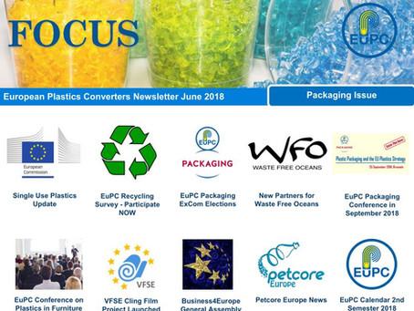 EuPC FOCUS, June 2018 - Packaging
