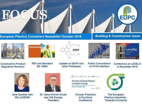 EuPC FOCUS, October 2018 - Technical Parts