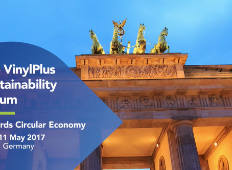 Highlights from the  2017 VinylPlus Sustainability Forum