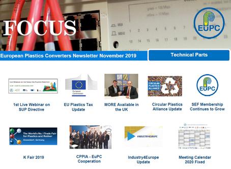 EuPC FOCUS, November 2019 - Technical Parts