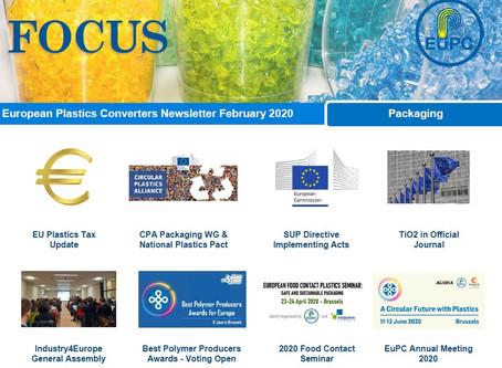EuPC FOCUS, February 2020 - Packaging
