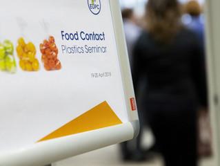 EuPC/PCE Food Contact Plastics Seminar 2018 took place in Brussels