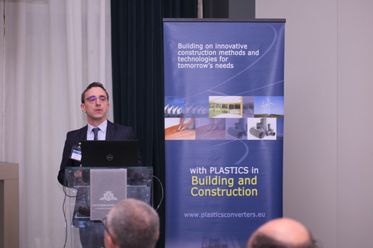 Building & Construction Session at Packaging Session at A Circular Future with Plastics