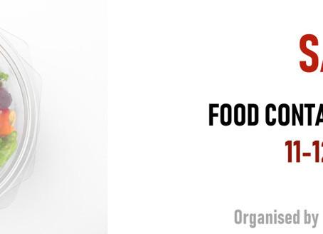 SAVE THE DATE: Food Contact Plastics Seminar 2019