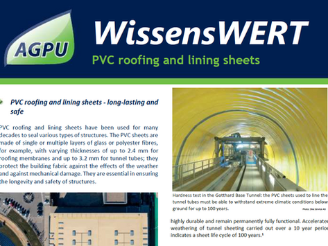 Worth Knowing - PVC Roofing and Lining Sheets