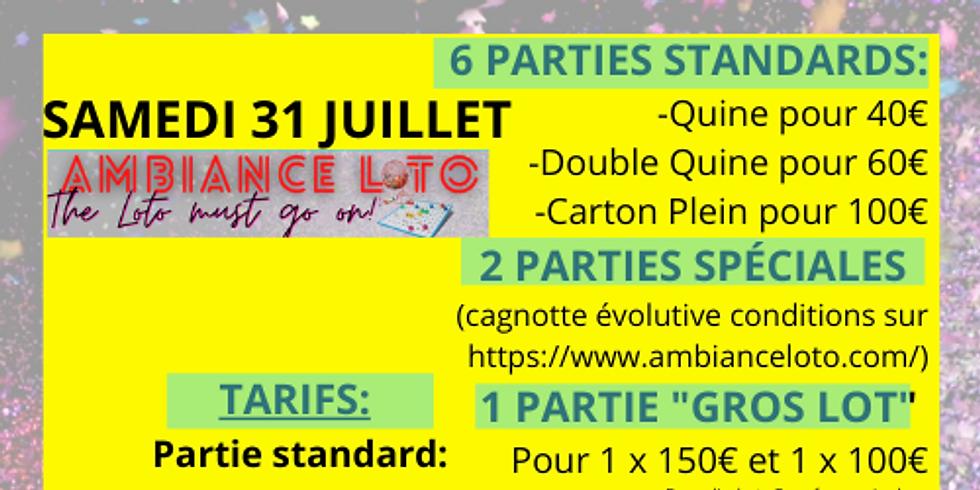 Loto Fédération Sportive et Gymnique du Travail Pôle Cyclisme (31 juillet)
