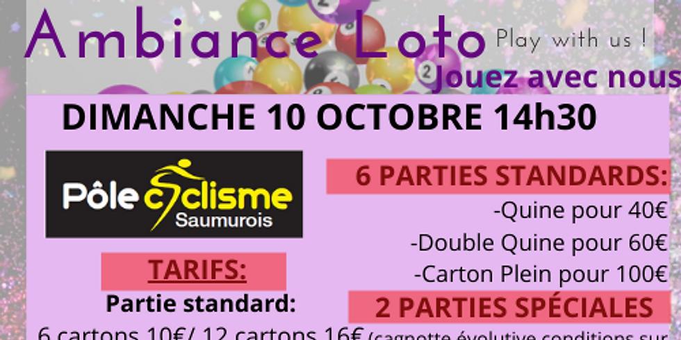 Loto Pôle Cyclisme Saumurois dimanche 10 octobre 14h30