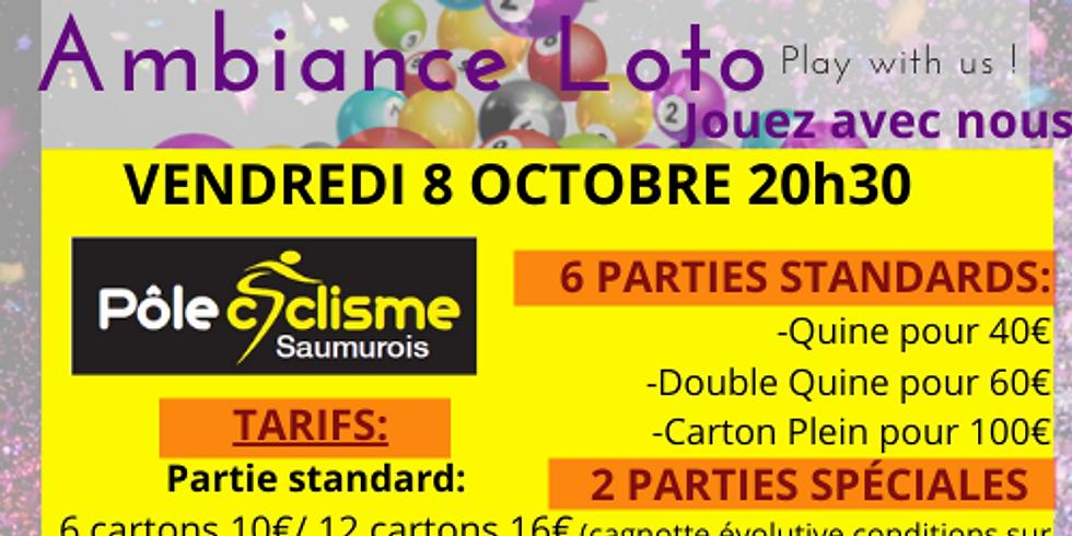 Loto Pôle Cyclisme Saumurois vendredi 8 octobre 20h30