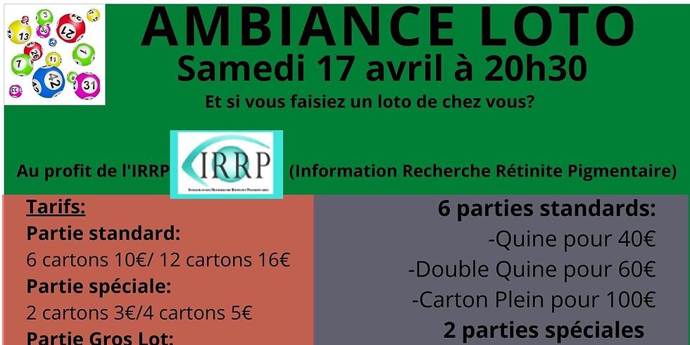 Loto de l'IRRP (Information Recherche Rétinite Pigmentaire)