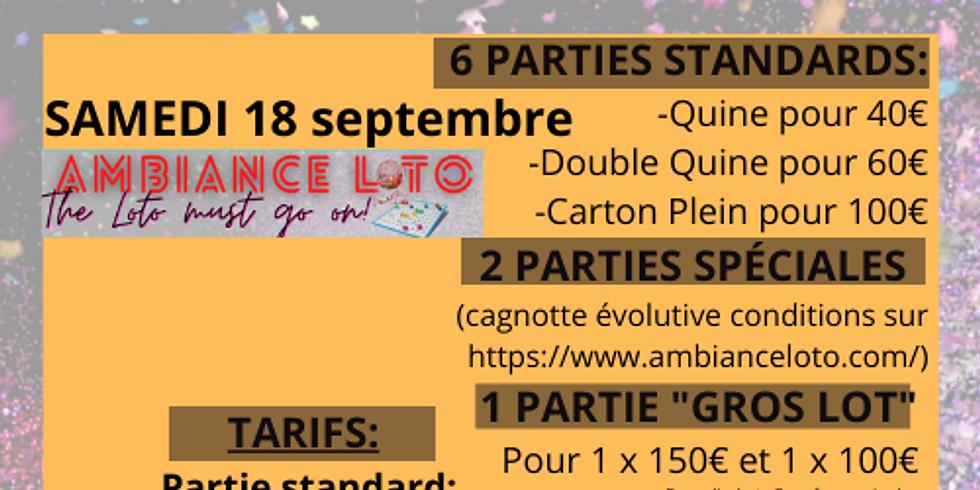 Loto Pôle Cyclisme Saumurois (18 septembre )