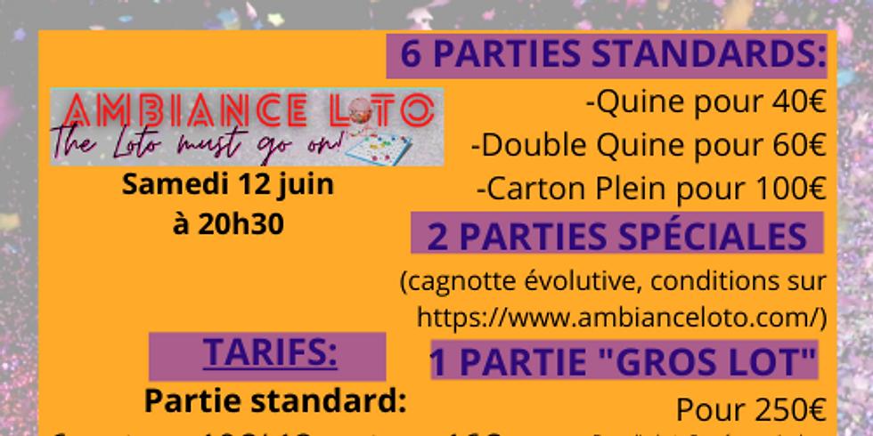 Loto de la Fédération Sportive et Gymnique du Travail Sarthe -Pôle Cyclisme