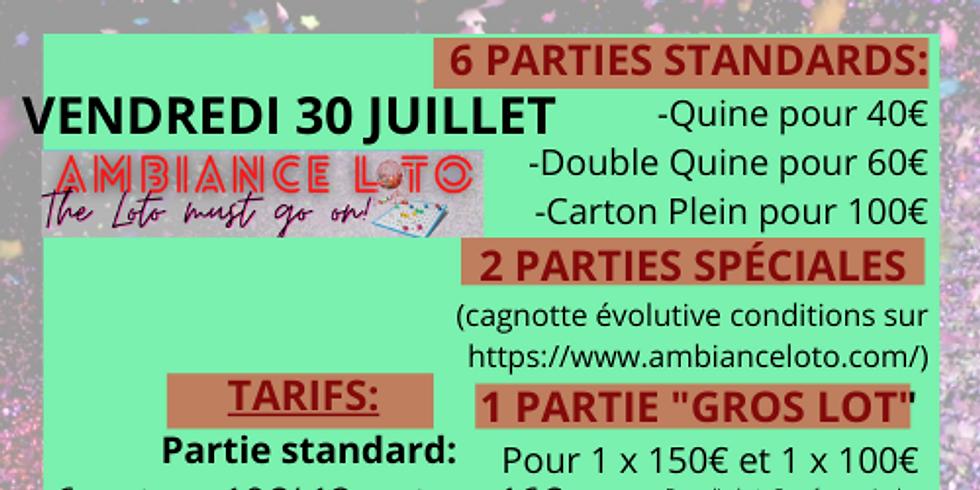 Loto Fédération Sportive et Gymnique du Travail Pole Cyclisme  (30 juillet)