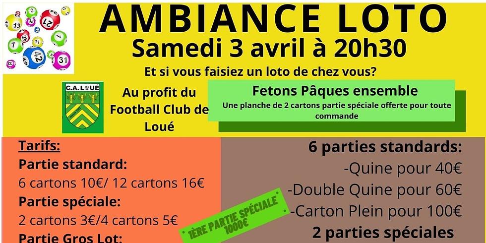 Loto du Football Club de Loué