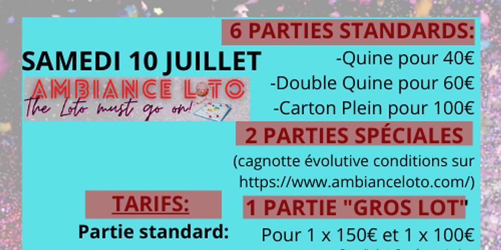 Loto La Tournée d'Autrefois (10 juillet)