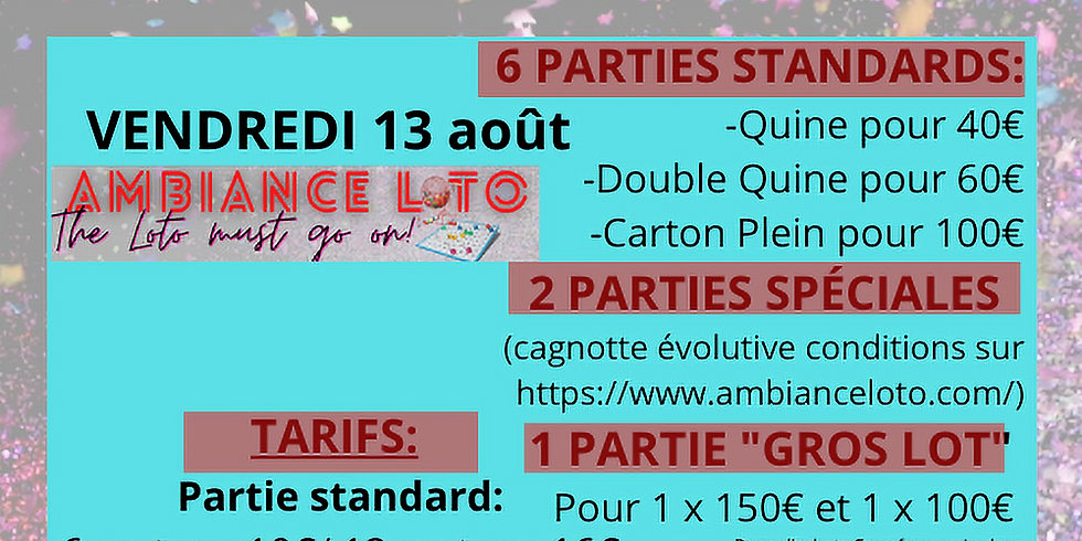 Loto Pôle Cyclisme Saumurois (13 août )