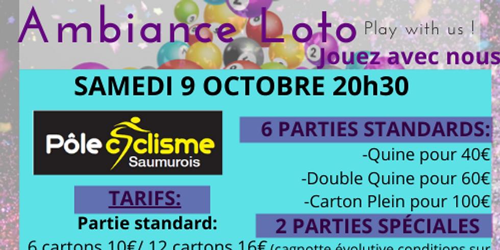 Loto Pôle Cycliste Saumurois samedi 9 octobre 20h30