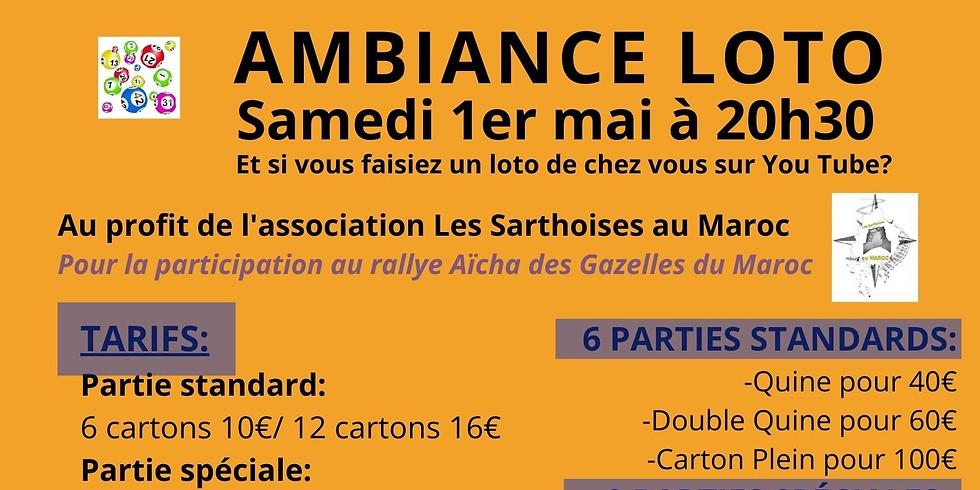 Loto Les Sarthoises au Maroc