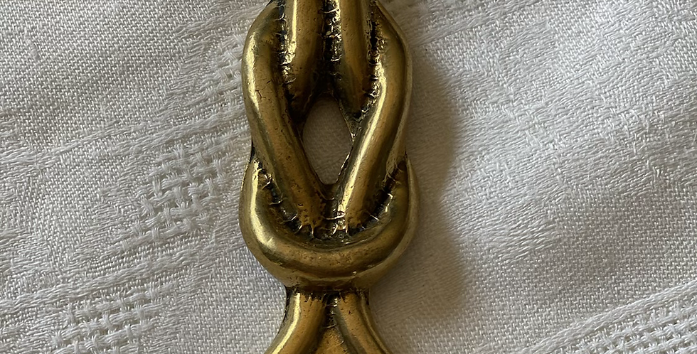 Abrebotellas nudo bronce