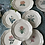 Thumbnail: 6 platos llanos  cerámica, pintados a mano por Juan Antonio Esc